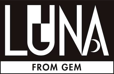 『LUNA from GEM』ロゴ